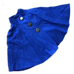 Royal Blue Cape Brand New w tags